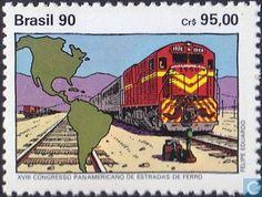 Brazil [BRA] - Pan-America Railway Congress 1990