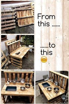 Most recent No Cost backyard kids mud kitchen Strategies : If you have young children, you already know that having something so that they can accomplish will be important. Outdoor Play Kitchen, Diy Mud Kitchen, Mud Kitchen For Kids, Kids Outdoor Play, Outdoor Play Areas, Kids Play Area, Backyard For Kids, Diy For Kids, Backyard Kitchen