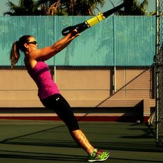 3 TRX Moves For the Ultimate Arm Workout. It's Fun!
