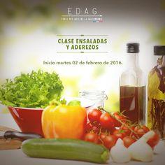 Quien dijo que las ensaladas no eran divertidas, es porque no fue a nuestro curso.¡Inscríbete! info@edagmexico.com