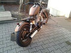 Suzuki ls 650 savage rusty look