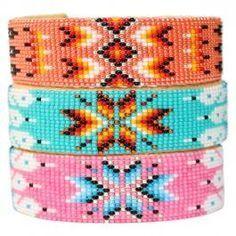 bracelets perles tissées - Google zoeken