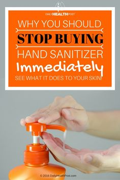 Hand sanitizer is the of the most common household products in the United States. Most families and schools rely on it to prevent an epidemic when a child is sick or simply view it as a cleaner alternative to hand washing.