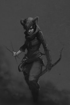 """we-are-rogue: """" Neris by StoryKillinger """" Some inspirational art for gaming. Make sure to check out the artist's page."""