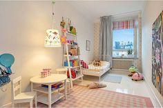 Luminozitate si creativitate in camera-copiilor