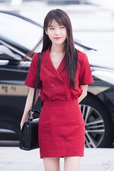 Find images and videos about girl, kpop and outfit on We Heart It - the app to get lost in what you love. Kpop Fashion, Asian Fashion, Korean Bangs Hairstyle, Korean Girl, Asian Girl, Kpop Mode, Korean Celebrities, Korean Actresses, Airport Style