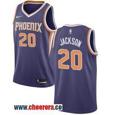 Men s Nike Phoenix Suns  20 Josh Jackson Purple NBA Swingman Icon Edition  Jersey a74e89441