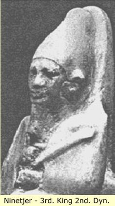 Nesi (King) Ni-neter (Ninetjer) - Dynasty, Old Kingdom Ancient Egypt Pharaohs, Kemet Egypt, Ancient Egypt History, Ancient Egyptian Art, Ancient Symbols, Egyptian Kings And Queens, The Bible Movie, Black History Facts, African American History