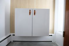 Upcycled Storage: How to Install a Floating Cabinet >> http://blog.diynetwork.com/maderemade/2015/03/25/upcycled-storage-how-to-install-a-floating-cabinet/?soc=pinterest