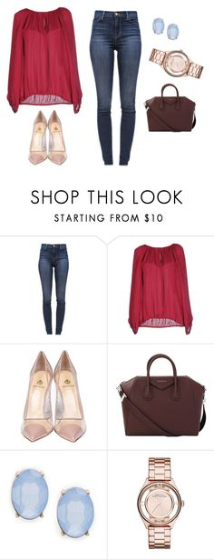 """Untitled #254"" by tracie-renae on Polyvore featuring J Brand, Diane Von Furstenberg, Semilla, Givenchy, Cara and Marc by Marc Jacobs"