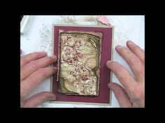 How to Give Newly Made Cards a Vintage Feel