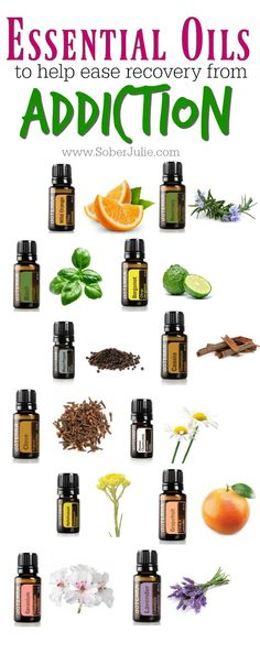 Recovering from addiction and alcoholism can be very difficult, essential oils may help ease some of the discomfort a person...