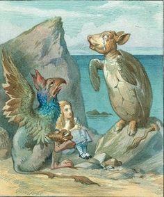 Mock turtle  -  llustration: Sir John Tenniel/Alice's Adventures in Wonderland: Illustrations © Macmillan 1911
