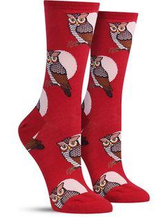 Horned Owl Socks