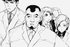 Tokyo Ghoul : Shinohara,Akira,Amon and Suzuya