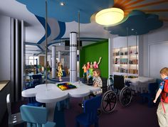 A smile on children's faces reflects the laughter in their hearts. Take a look at our indoor soft play designed specially for children with special needs, one of our important projects this year.