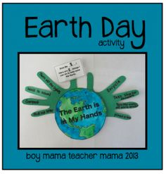 Boy Mama Teacher Mama   Earth Day Activity