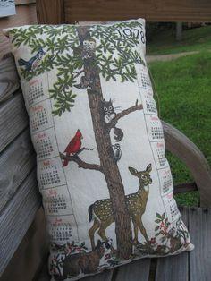 Tea Towel Pillow #inspiration