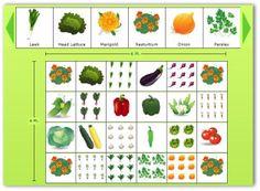 Garden Design Template vegetable garden layout template | planning a garden layout sample