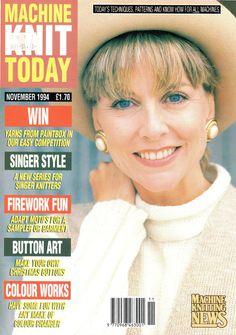 Machine Knit Today Magazine 1994.11 Free PDF Download 300dpi ClearScan OCR