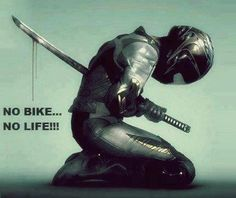 Truth with a resulting seppuku. Bike Quotes, Motorcycle Quotes, Motorcycle Art, Biker Chick, Biker Girl, Motard Sexy, Bike Humor, Riding Quotes, Moto Bike