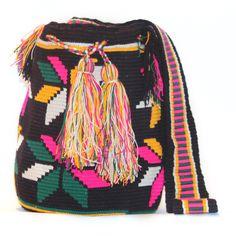 Crochet Mochila Bag #CraftInspiration
