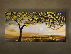 Imagini pentru copaci infloriti pictati