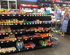 In 2011, Sports Authority made headlines by promising to remove candy from its checkout areas. We're disappointed to see that the company isn't keeping its promise. M&Ms and Coke don't promote health and fitness, Sports Authority. Try fresh fruit & water instead! (Sports Authority, Chandler, AZ, 4/14)