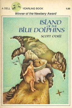 Island of the Blue Dolphins (Island of the Blue Dolphins, {PDF} Téléchargement gratuit du livre Scott O'Dellaaspcaa Best Books To Read, Good Books, My Books, 4th Grade Books, Fourth Grade, Twilight, Newbery Award, Survival Books, Midnight Sun