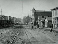 1899 ~ Butternut Street near Knaul Street