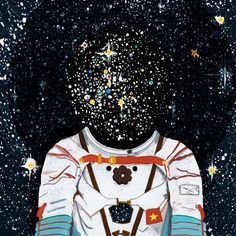 'Space Odyssey' by Mike Ellis - Illustration from