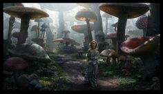 "Concept Art for ""Alice in Wonderland"" by Dylan Cole"