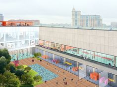 Gallery of Rem Koolhaas to Lead OMA's Transformation of the New Tretyakov Gallery in Moscow - 4