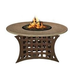 California Outdoor Concepts - 4010 - La Costa - Chat Height Outdoor Fireplace * Pinterest Friends Only: Save 10% on everything on PatioProductsUSA.com with #coupon code PIN10 *