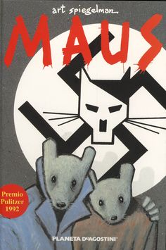 Maus - Art Spiegelman graphic novel story of the Holocaust. Maus Art Spiegelman, The Survivalist, New York Times, Comic Cover, Good Books, Books To Read, Amazing Books, It's Amazing, Awesome