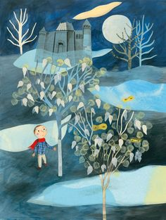 """""""Strange Trees and the Stories Behind Them"""" French author Bernadette Pourquié and illustrator Cécile Gambini."""