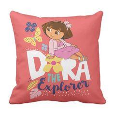 Dora the Explorer | The Explorer Throw Pillow