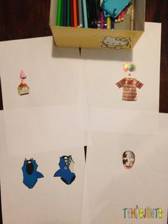 Complete o desenho - um convite à imaginação - desenhos antes