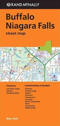 Rand Mcnally Buffalo Niagara Falls Street Map