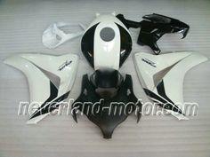 Honda CBR 1000RR 2008-2009 ABS Verkleidung - Weiß/Schwarz #cbr1000rrverkleidung09 #hondacbr1000rrverkleidung