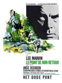 Shadow Film, Carroll O'connor, John Boorman, Lee Marvin, Metro Goldwyn Mayer, Angie Dickinson, Point Blank, Classic Movie Posters, Cinema Film
