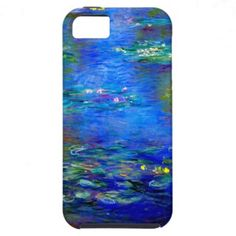 Monet Water Lilies Case - reminds me of my grandma and sister!