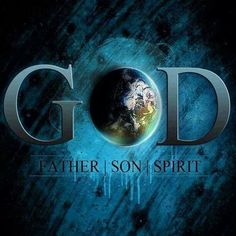 3 persons ~ One God ><>We are made in his image.. Body, Soul, & Spirit. Our Spirit died because of sin, but we can be made alive again by Repenting and Receiving Jesus Christ.