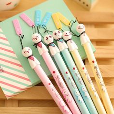 Kawaii Ghosties Gel Pen