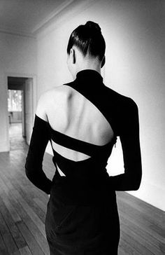 photo by French fashion photographer Jeanloup Sieff