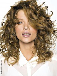 Coupes de cheveux tendance pour les cheveux bouclés -... (6)