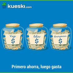 El que parte y reparte, administra mejor sus finanzas. #KueskiTips #Finanzas #Ahorro