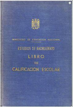 Libro de escolaridad