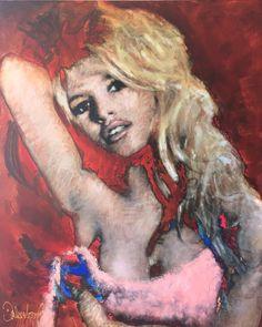 Schilderijen Peter Donkersloot Brigitte Bardot  Excellent Art Utrecht - Holland