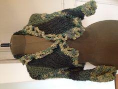 Hand knit bolero Julia musi
